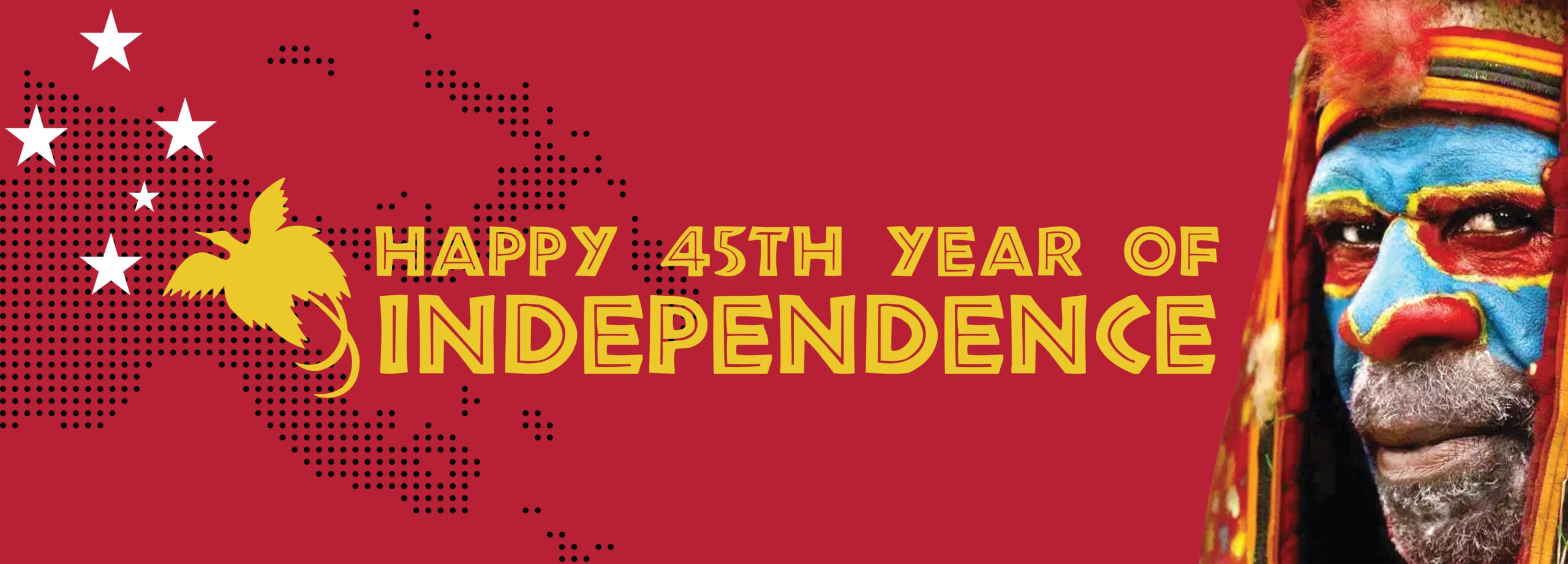Happy Independence Day Papua